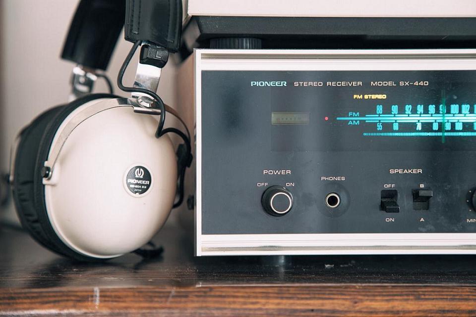 radio and ear phone